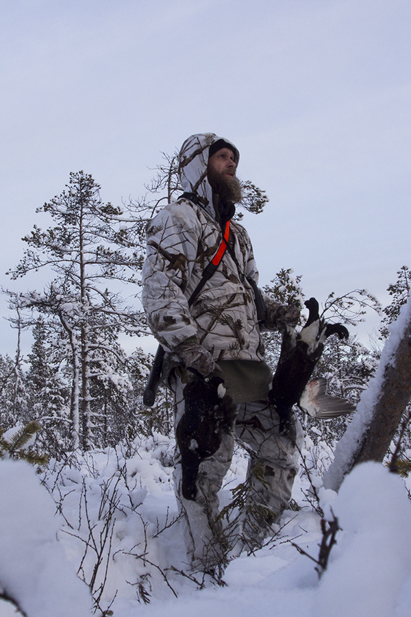 4-Day Black-Grouse Winter stalk hunting adventure